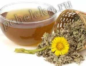 Кашель мать и мачеха мёд