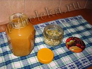 Тыквенные семечки и мёд