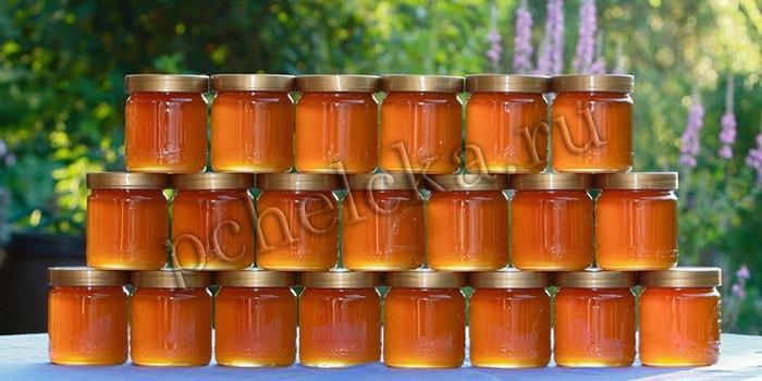 Хранение мёда в стекляной таре