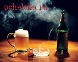 Алкоголь и курение провоцируют рак